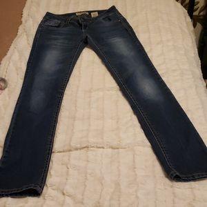 Paris blues jeans 9 x 31.5 straight leg